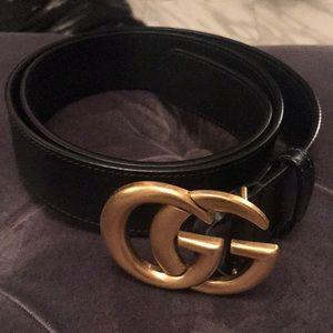 Gucci belt.